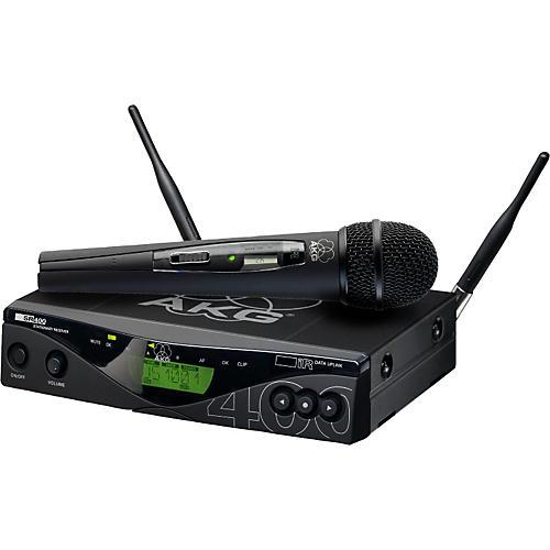 AKG WMS 400 Vocal Set/C 900 Handheld Wireless System