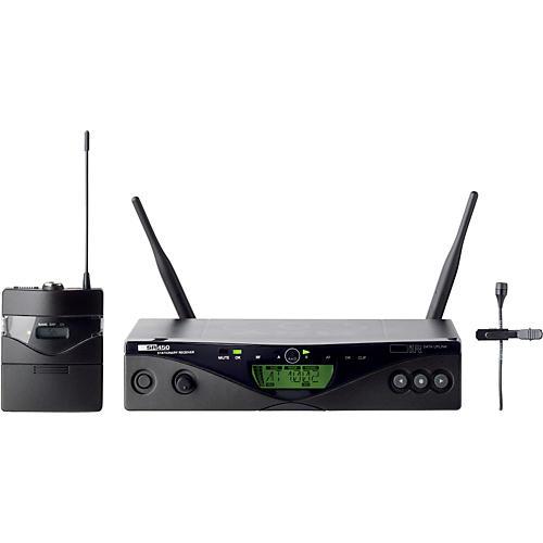 AKG WMS 450 Wireless Lavalier Presenter Set Band 1