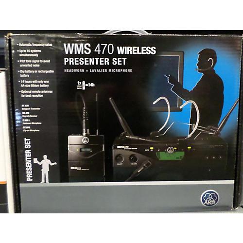 AKG WMS 470 PRESENTER Headset Wireless System