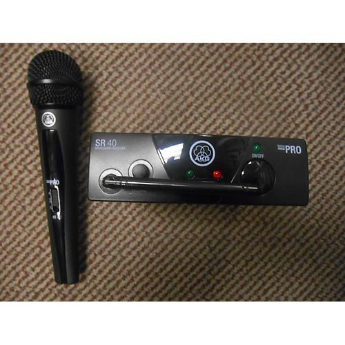 AKG WMS40 Mini Vocal Handheld Wireless System