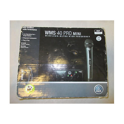 AKG WMS40 PRO MINI Handheld Wireless System