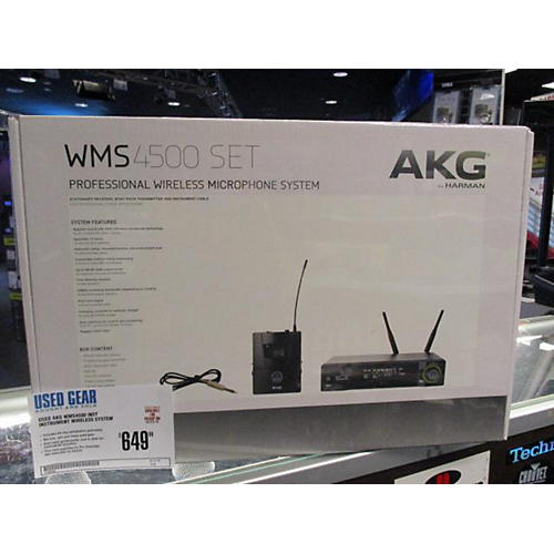 AKG WMS4500 INST Instrument Wireless System-thumbnail