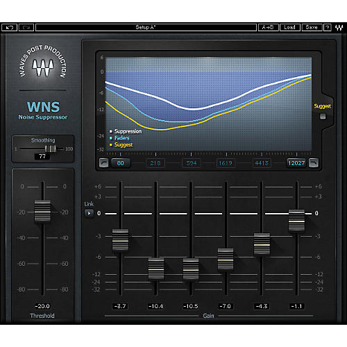 Waves WNS Noise Suppressor Native
