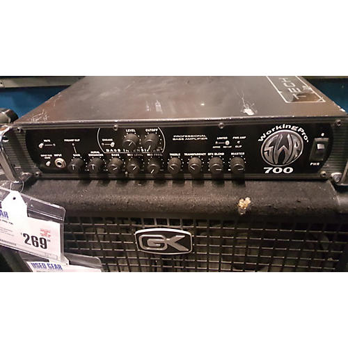 SWR WORKING PRO 700 Bass Amp Head