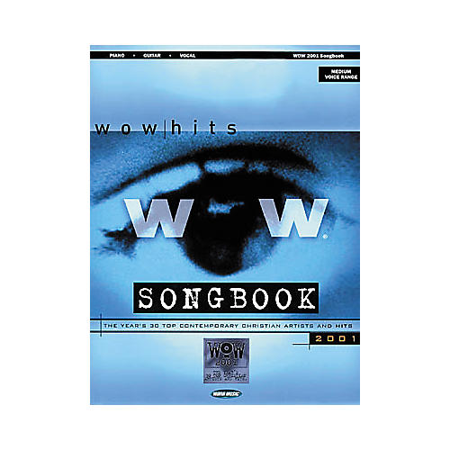 Word Music WOW 2001 Piano, Vocal, Guitar Songbook-thumbnail
