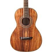 Washburn WP55 Parlor Koa Acoustic Guitar