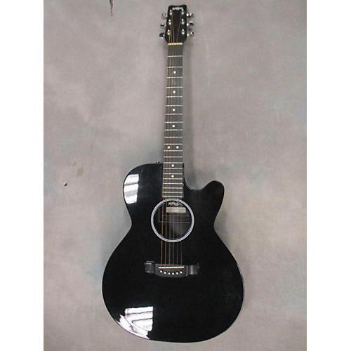 Rainsong WS1000 Acoustic Electric Guitar Black
