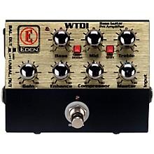 Eden WTDI World Tour Direct Box and Bass Preamp Level 1 Black