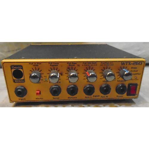 Eden WTX260 Bass Amp Head