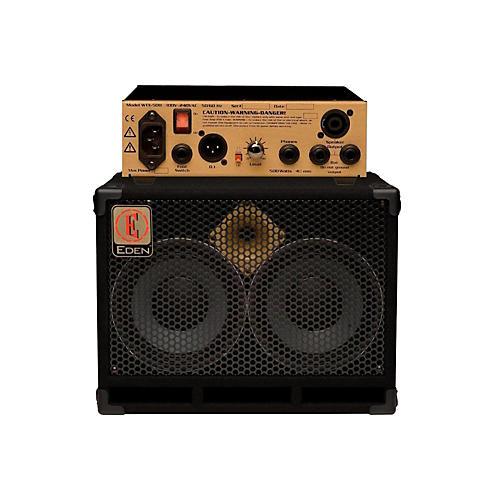 Eden WTX500 Bass Head Gold with D210XST 2x10 Cab 8ohm