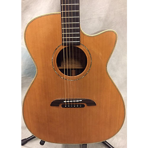 Alvarez WY1 Yairi Stage OM/Folk Acoustic Electric Guitar