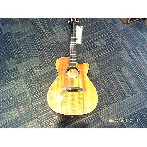 Alvarez WY1K Yairi Koa Acoustic Electric Guitar