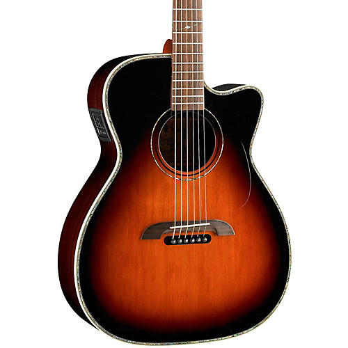 Alvarez WY1TS Yairi Stage OM/Folk Acoustic-Electric Guitar-thumbnail