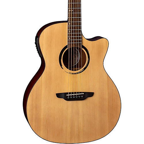 Luna Guitars Wabi Sabi Grand Concert Acoustic-Electric Guitar Natural