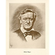 Music Sales Wagner (Lupas Large Portrait Poster) Music Sales America Series