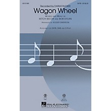 Hal Leonard Wagon Wheel SAB by Darius Rucker Arranged by Roger Emerson