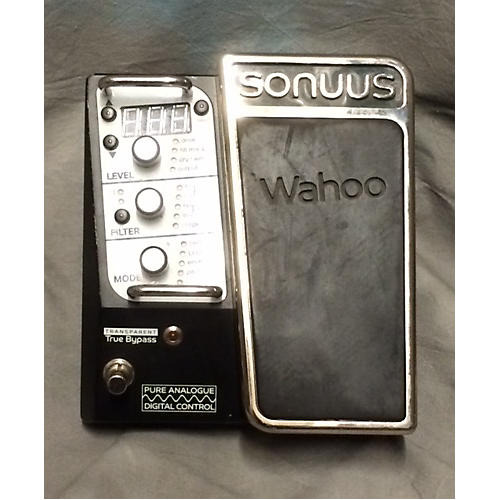 Sonuus Wahoo Black And Silver Effect Pedal-thumbnail