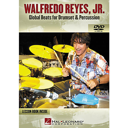 Hal Leonard Walfredo Reyes, JR. - Global Beats for Drumset Percussion (DVD)