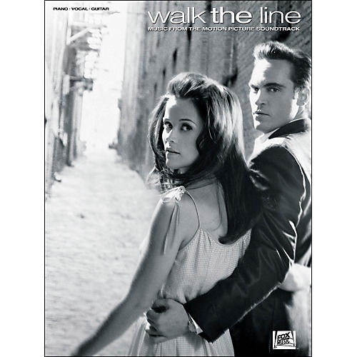 Hal Leonard Walk The Line - Music From The Motion Picture Soundtrack arranged for piano, vocal, and guitar (P/V/G)