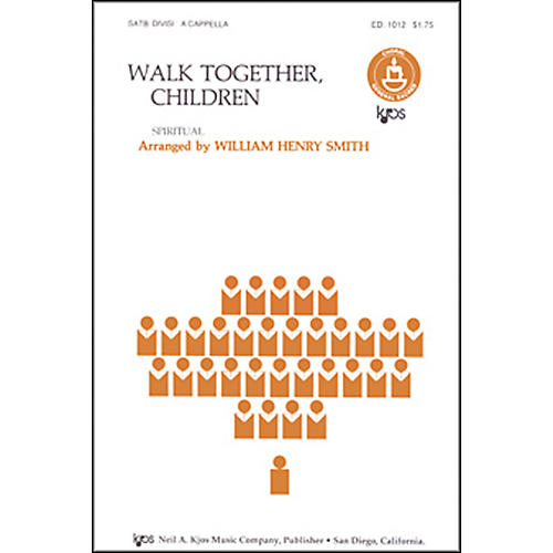 KJOS Walk Together Children-thumbnail