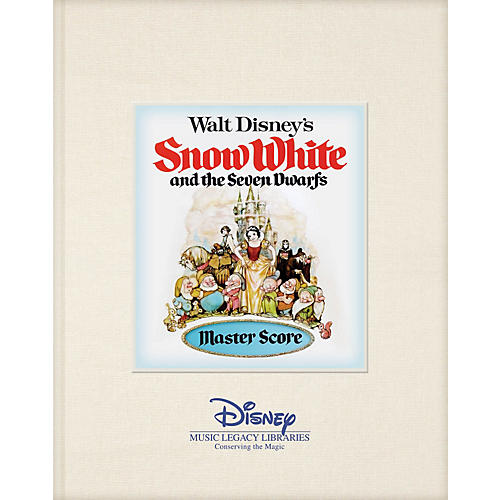 Hal Leonard Walt Disney's Snow White and the Seven Dwarfs Disney Master Score Series Hardcover Written by Various