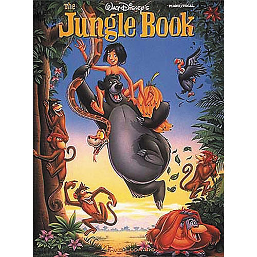 Hal Leonard Walt Disney's The Jungle Piano, Vocal, Guitar Songbook