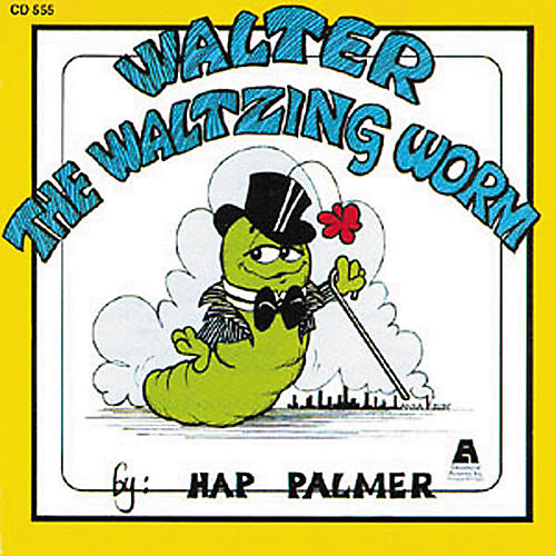 Educational Activities Walter the Waltzing Worm (CD)-thumbnail