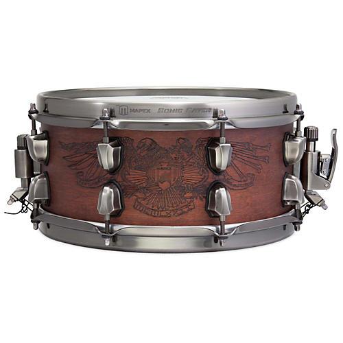 Mapex Warbird Chris Adler Artist Inspired Black Panther Snare Drum-thumbnail