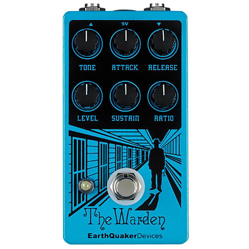 Earthquaker Devices Warden Optical Compressor Guitar Effects Pedal-thumbnail