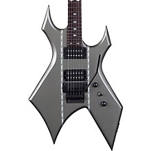 Warlock with Double Locking Tremolo Electric Guitar Satin Barbed Wire Gun Metal