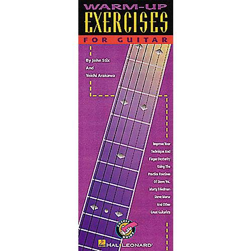 Hal Leonard Warm-Up Exercises for Guitar Book