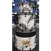 Chicago Custom Percussion Warped Tour Custom Drum Kit