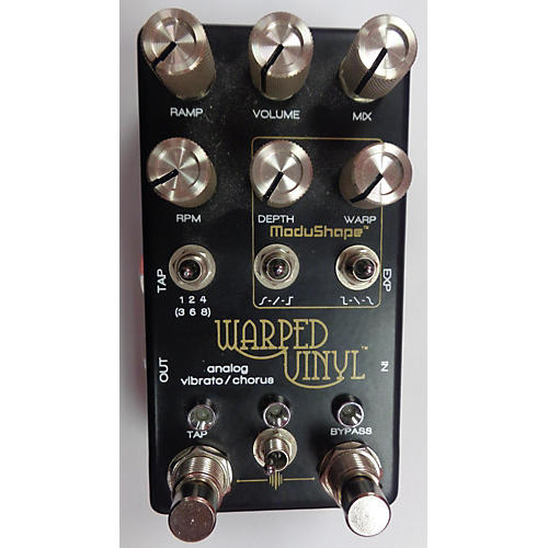 In Store Used Warped Vinyl Effect Pedal-thumbnail