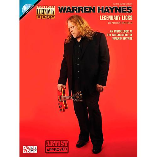 Cherry Lane Warren Haynes Legendary Licks Book/CD-thumbnail