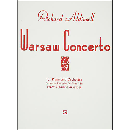 Hal Leonard Warsaw Concerto Piano Orchestra Duet Two Pianos Four Hands-thumbnail