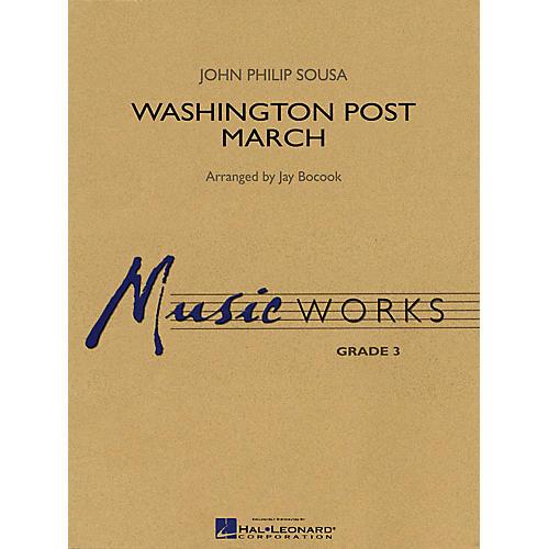 Hal Leonard Washington Post March Concert Band Level 3 Arranged by Jay Bocook
