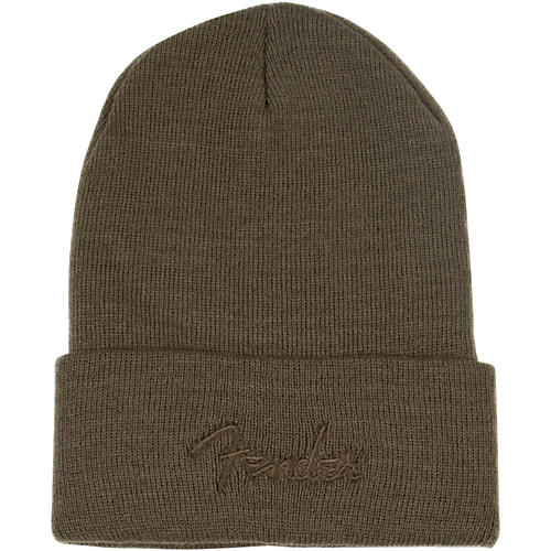 Fender Watchcap Knit Logo Beanie