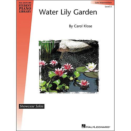 Hal Leonard Water Lily Garden - Showcase Solo Level 5 Late Intermediate Piano Solo Hal Leonard Student Piano Library by Carol Klose-thumbnail