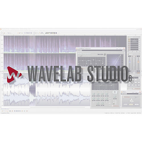 Steinberg Wavelab Studio 6 Software Educational Offer