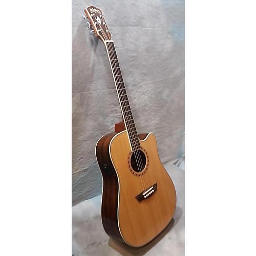 used washburn wd20sce acoustic electric guitar guitar center. Black Bedroom Furniture Sets. Home Design Ideas