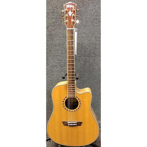 used washburn wd30sce acoustic electric guitar guitar center. Black Bedroom Furniture Sets. Home Design Ideas