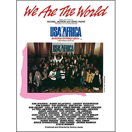 Alfred We Are the World (USA for Africa) Piano/Vocal/Chords Sheet-thumbnail