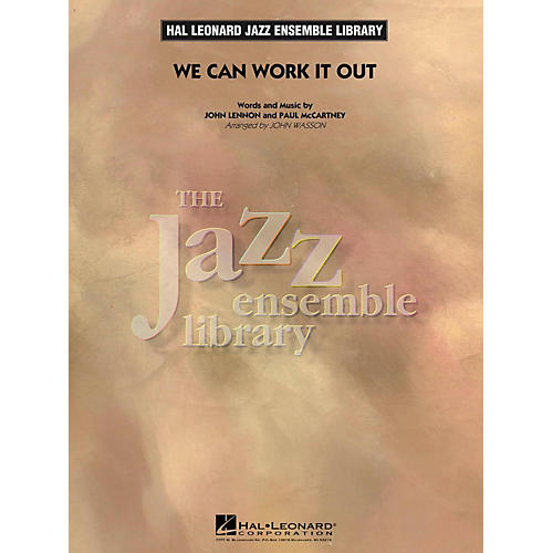Hal Leonard We Can Work It Out - Jazz Ensemble Library Level 4-thumbnail