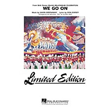 Hal Leonard We Go On (from Disney's Millenium Celebration) Marching Band Level 5 Arranged by Jay Bocook