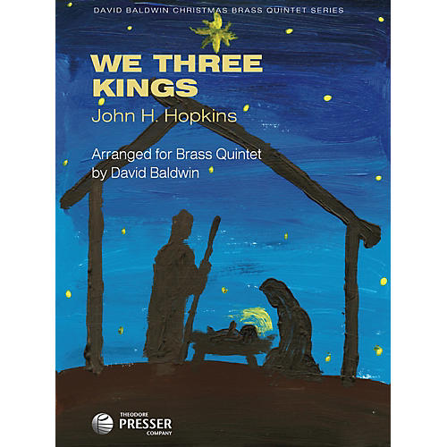 Carl Fischer We Three Kings (For Brass Quintet)-thumbnail