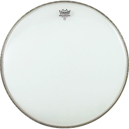 Remo WeatherKing Clear Ambassador Bass Drumhead  22 in.