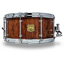 OUTLAW DRUMS Weathered Douglas Fir Stave Snare Drum with Chrome Hardware