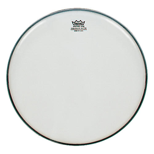 Remo Weatherking Smooth White Ambassador Batter  6 in.