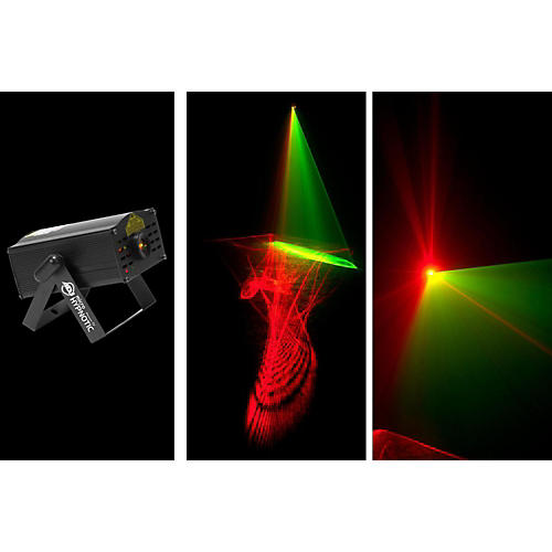 American DJ Web Type Red and Green Laser
