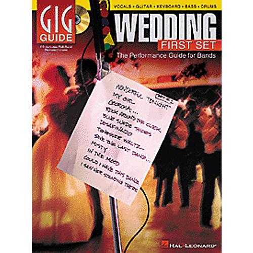 Hal Leonard Wedding First Set Gig Guide (Book/CD)